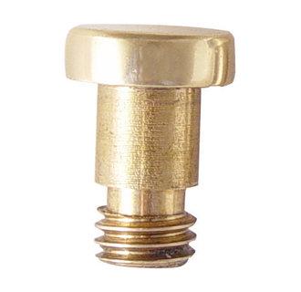 Emtek 2242 Solid Brass Extended Button Tip