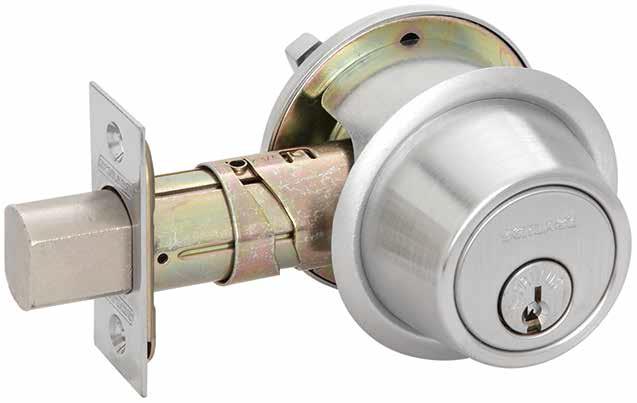 Schlage B560p Single Cylinder Deadbolt