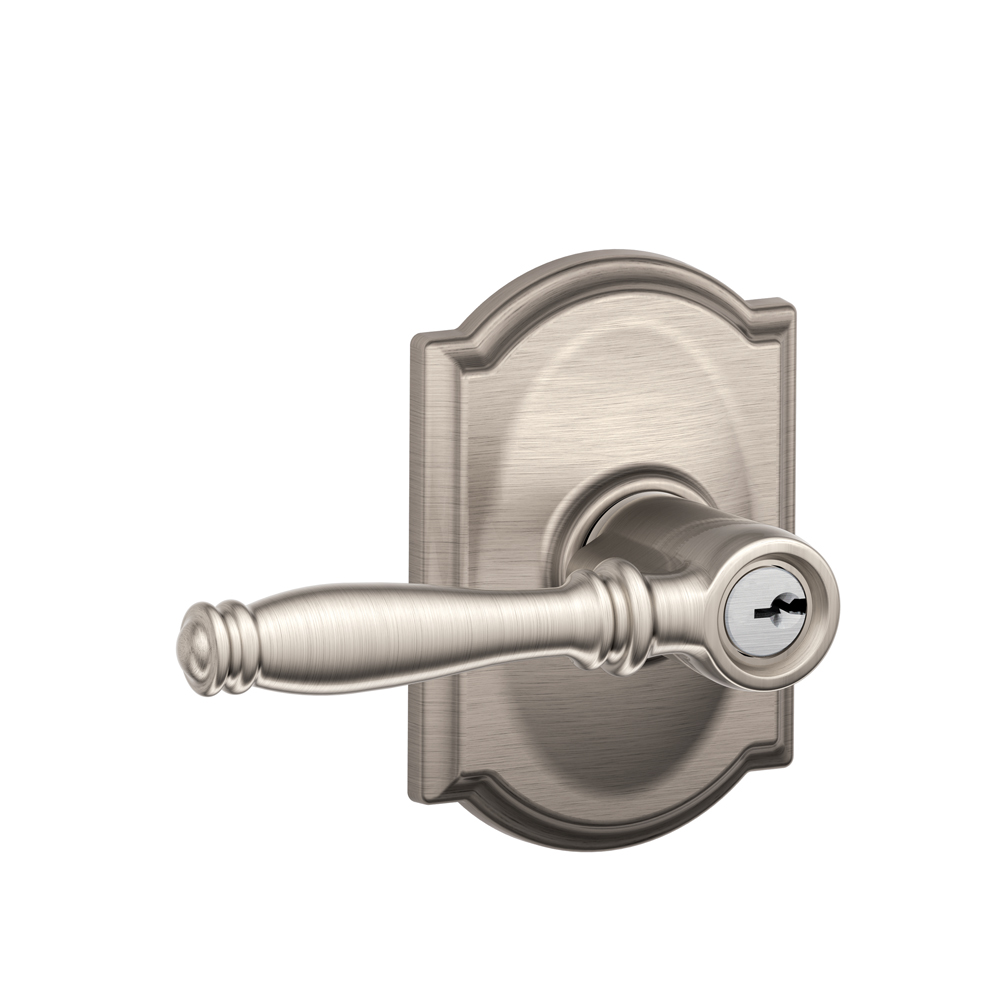 Schlage F51bir Cam Birmingham Keyed Entry Leverset With