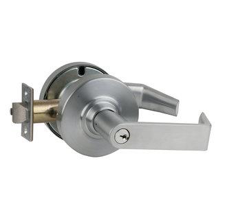 Schlage nd85pd rho rhodes faculty restroom door lever set - Commercial bathroom door handle ...
