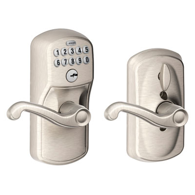Schlage Fe595 Ply Fla Plymouth Keypad Flex Lock Entry